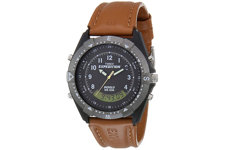 Timex Expedition Black Dial Men's Watch