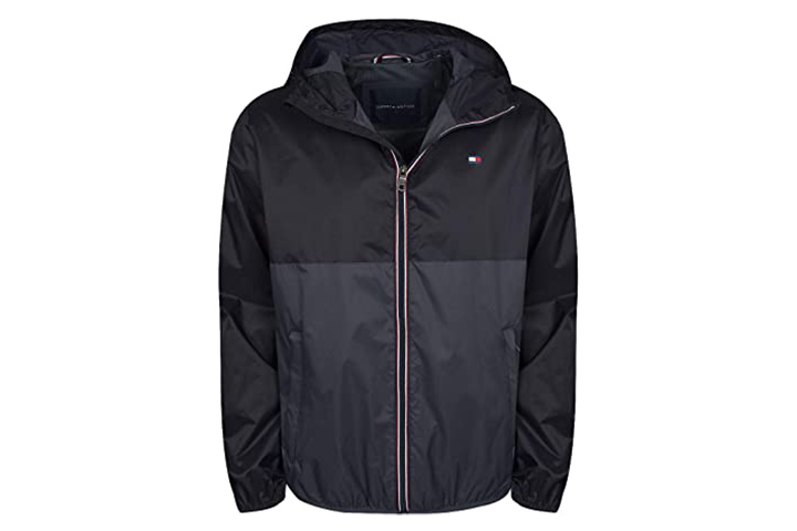 Tommy Hilfiger Men's Lightweight Rain Jacket