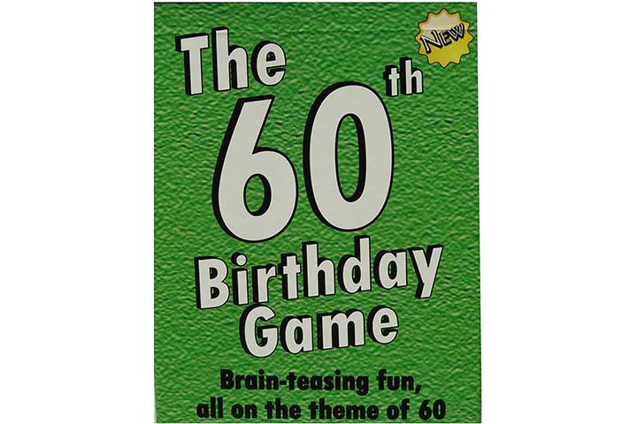 Toys & Child The 60th Birthday Game