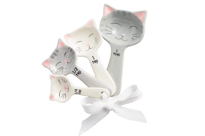 Toysdone Cat Shaped Measuring Spoons