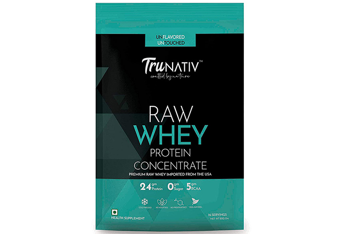 TruNativ Raw Whey Protein Concentrate Powder