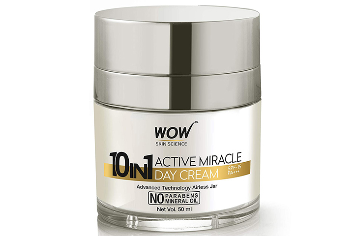 WOW Skin Science 10 In 1 Active Miracle Day Cream
