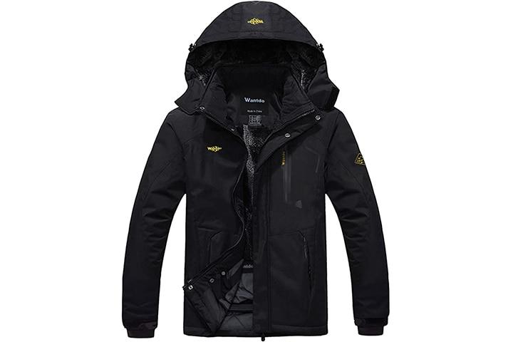 Wantdo Men's Mountain Ski Jacket