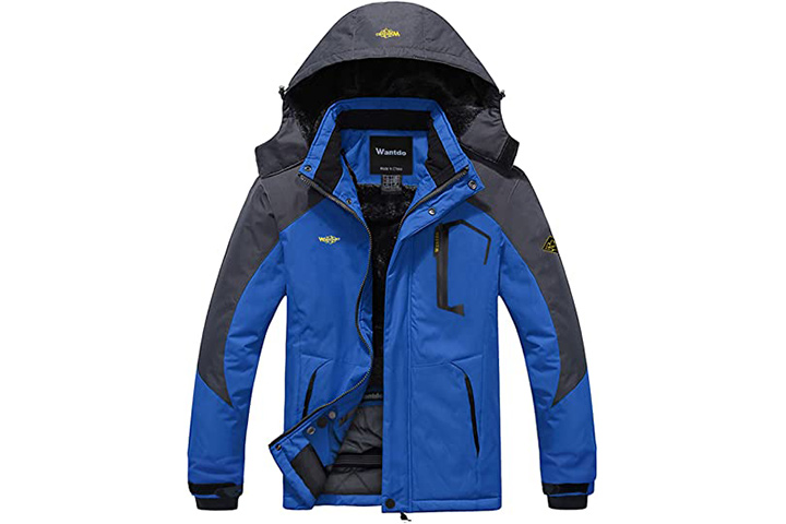 Wantdo Men's Mountain Waterproof Jacket