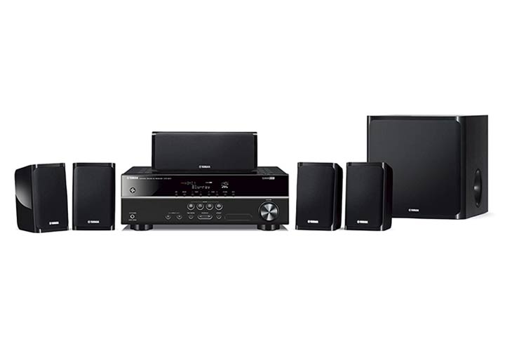 Yamaha YHT-1840 4K 5.1 Home Theater System