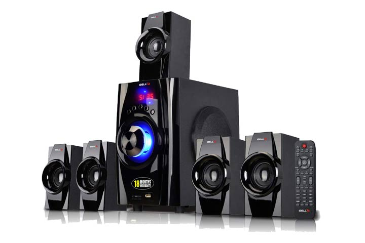 iBELL IBL2045DLX 5.1 Home Theater Speaker System