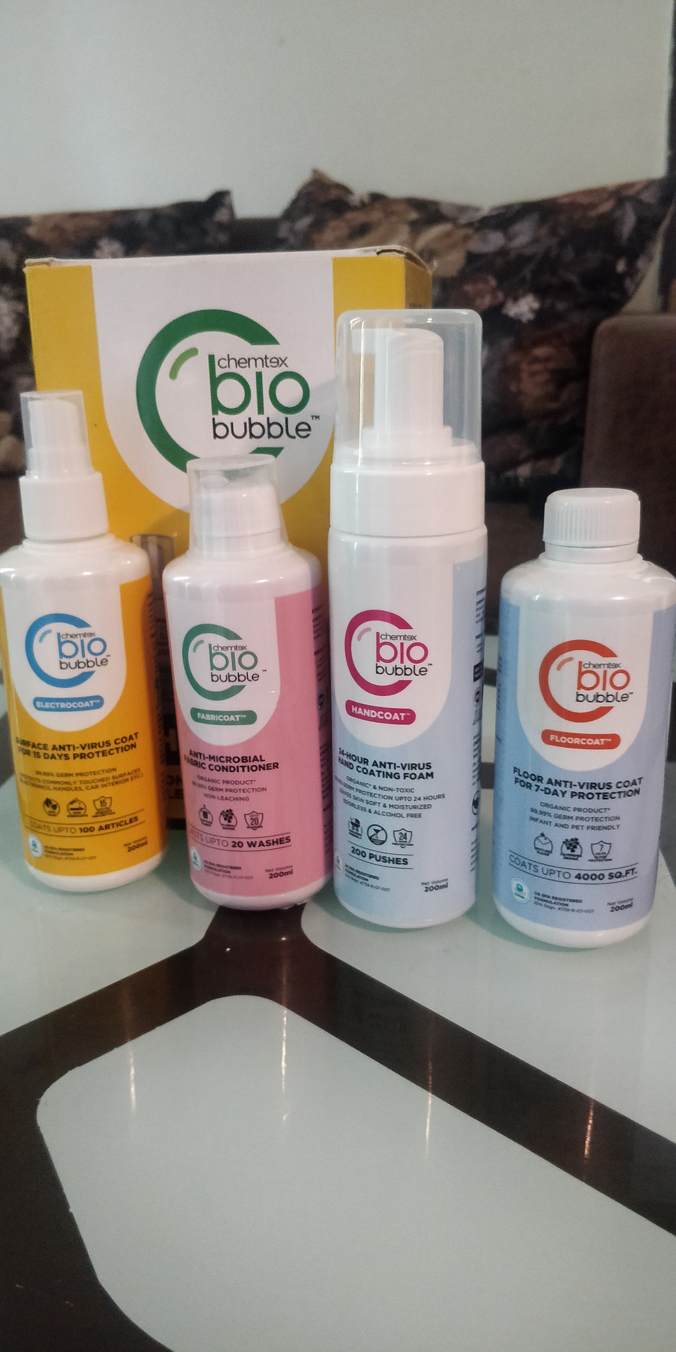 Chemtex Biobubble Home Kit-So far the best all round cleaning kit-By reshmark123
