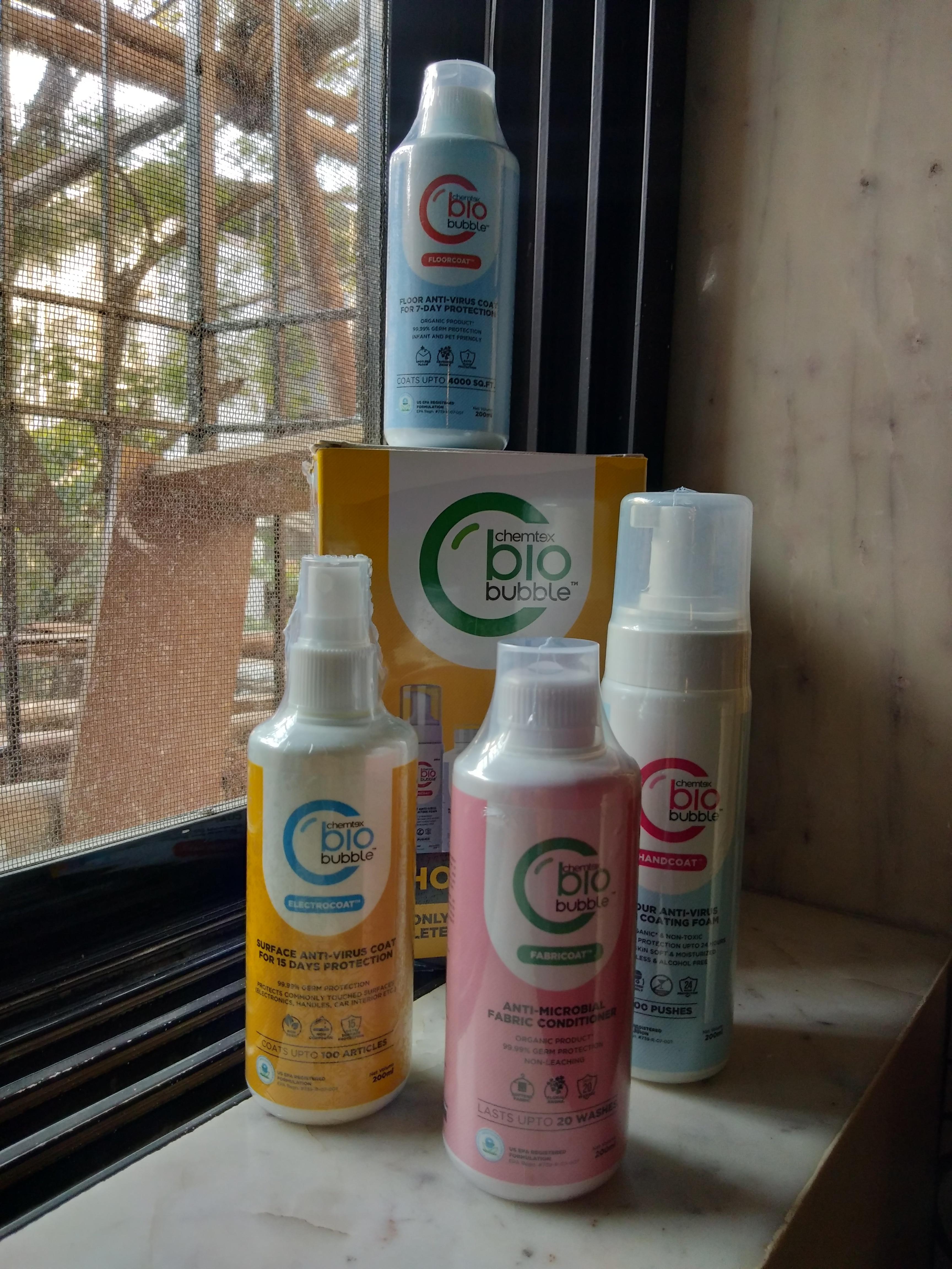 Chemtex Biobubble Home Kit-Biobubble Must At home-By samreen_memon