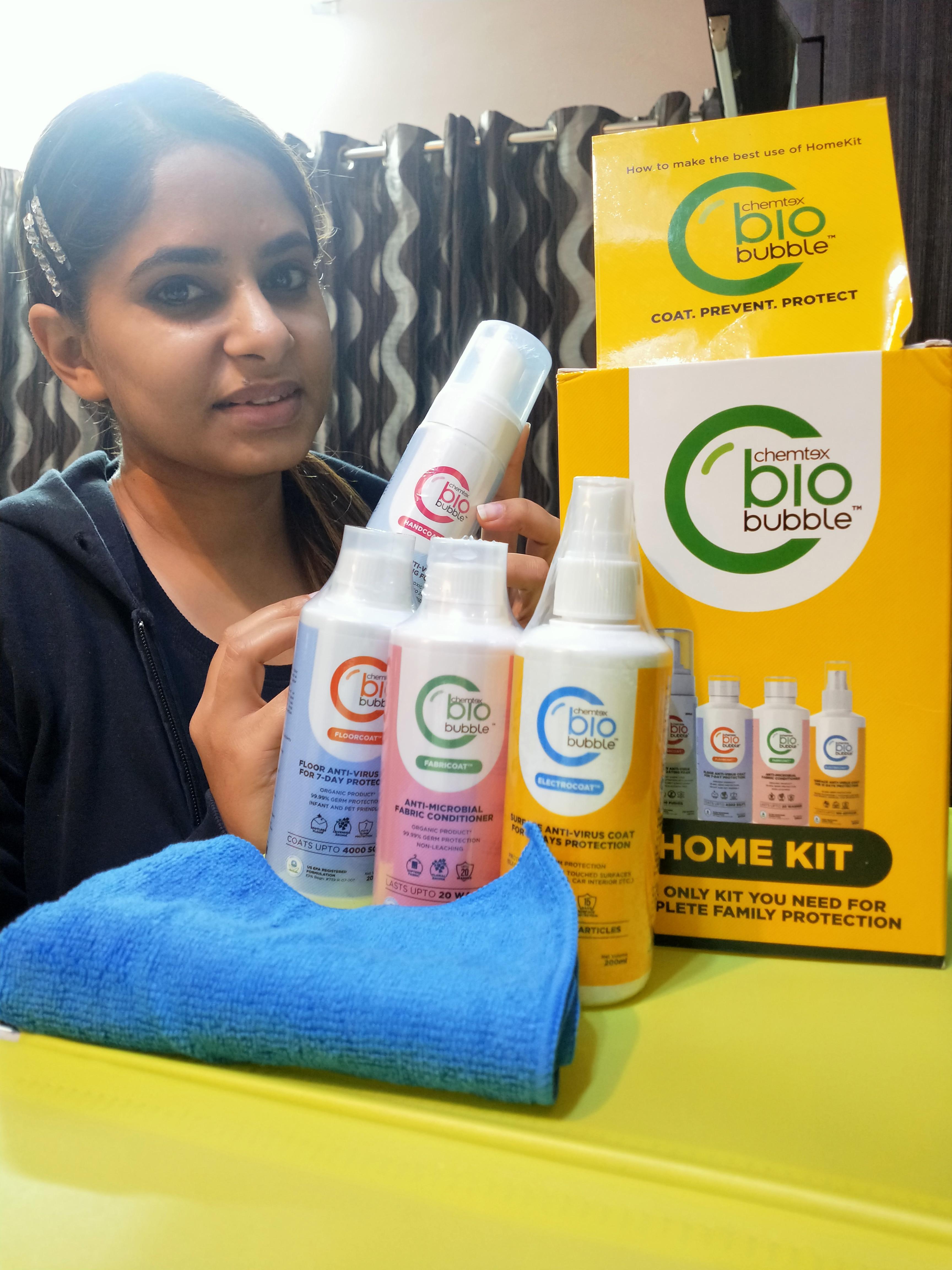 Chemtex Biobubble Home Kit-Saviour for family-By dilpreet_bhatia