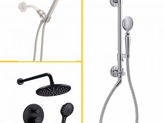 15 Best Handheld Shower Heads Of 2021