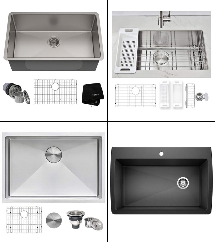 15 Best Undermount Kitchen Sinks