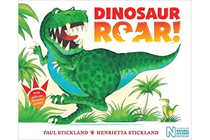 Dinosaur Roar! by Henrietta Stickland (2-4 years)