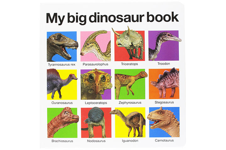 My Big Dinosaur Book by Roger Priddy (2-5 years)