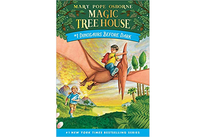 Dinosaurs Before Dark Magic Tree House Vol. 1 by Mary Pope Osborne (6-9 years)