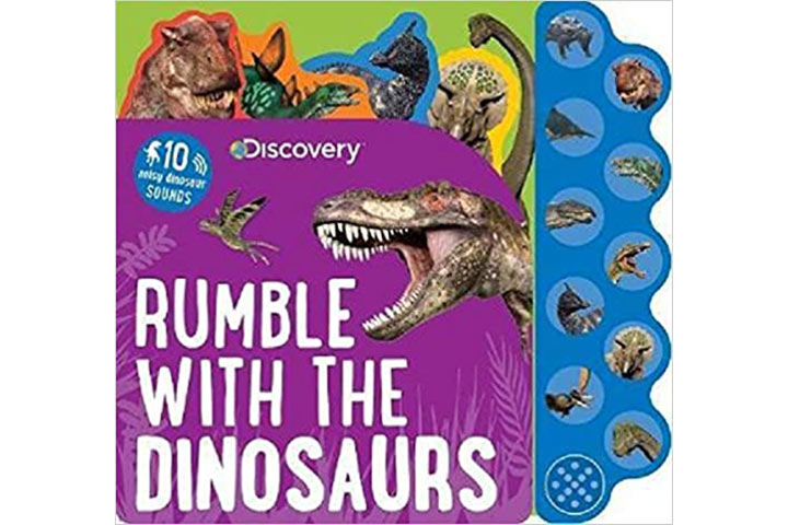 Discovery Kids Dinosaurs Rumble Sound Book by Parragon (2-5 years)