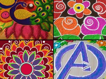 30 Easy Rangoli Designs For Kids And Beginners