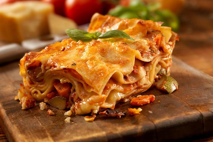 Crockpot vegan lasagna