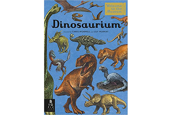 Dinosaurium Welcome To The Museum by Lily Murray (8-12 years)