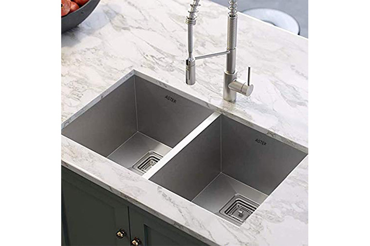 ASTER High-Grade Double Bowl Kitchen Sink