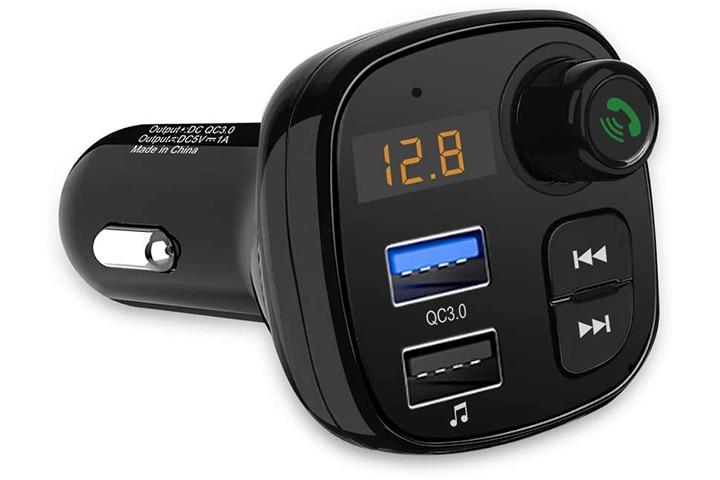 Aceyoon QC 3.0 Bluetooth FM Car Transmitter