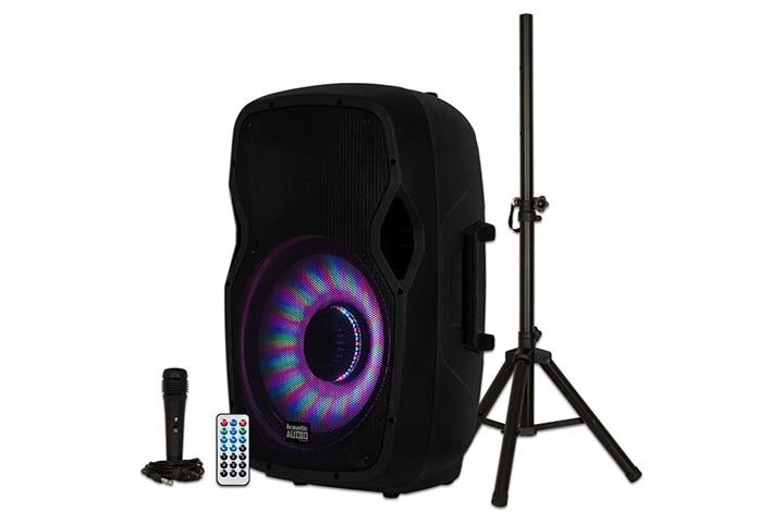 Acoustic Audio LED Light Display Speaker Set