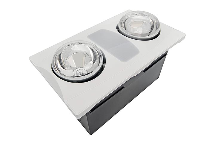 Aero Pure Exhaust Fan With Heat And Light Bulb A515 Series