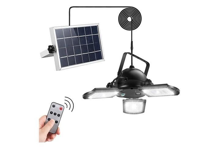 Agptek Solar Pendant Lights With Remote Control