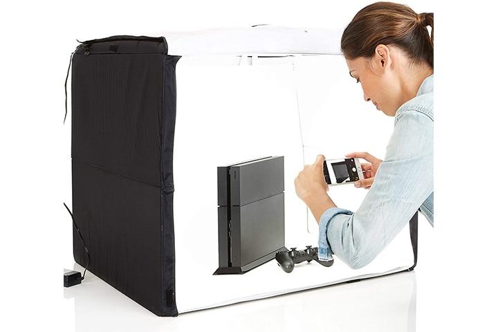 AmazonBasics Portable Foldable Photo Studio Box