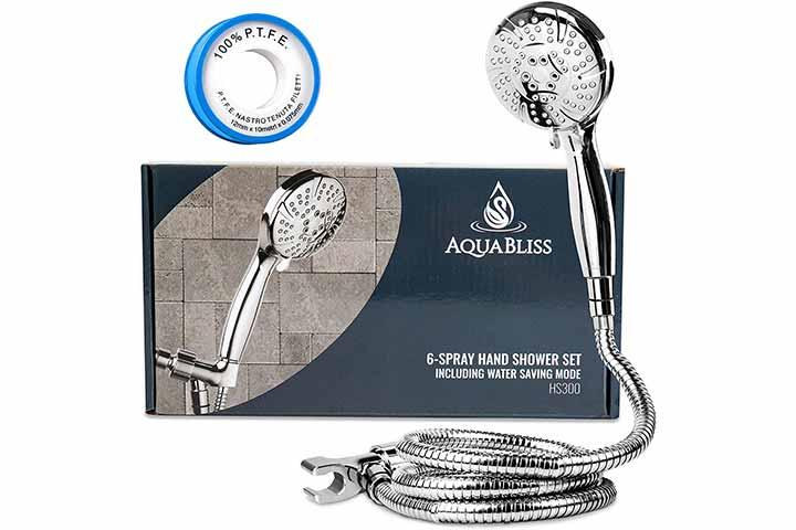 AquaBliss 6-Spray Hand Shower Set