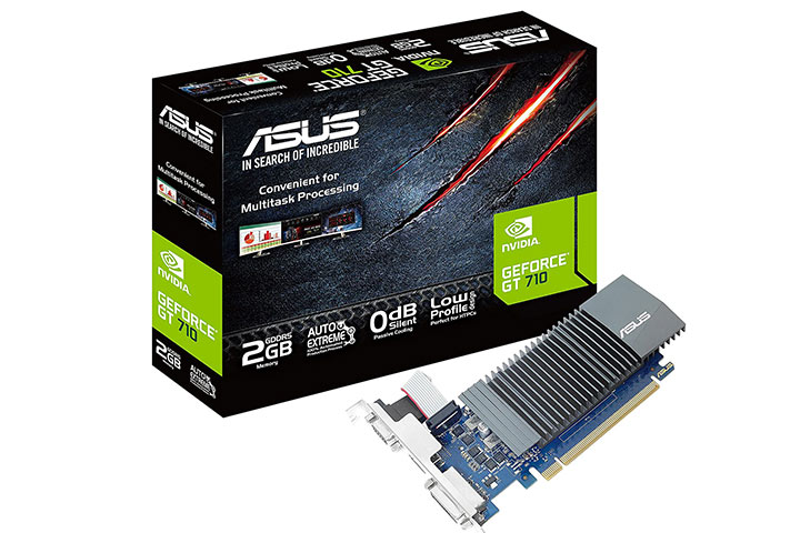 Asus GeForce GT 710 2GB GDDR5 Graphics Card