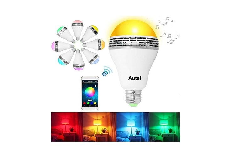 Autai LED Light Bulb With Smart Bluetooth Speaker