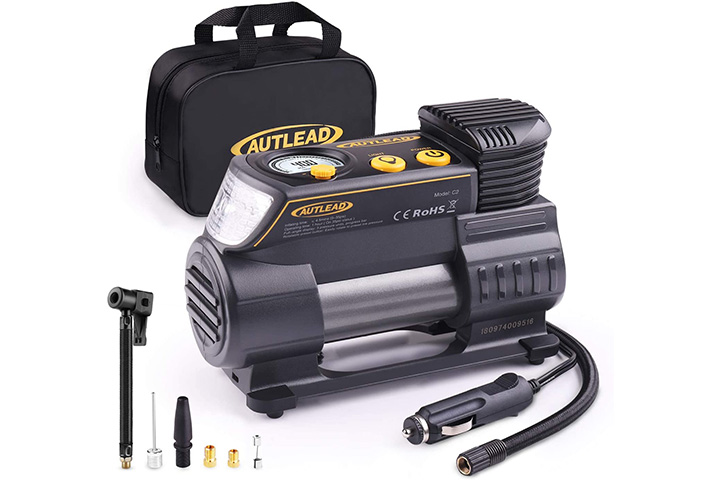 Autlead Portable Air Compressor Tire Inflator