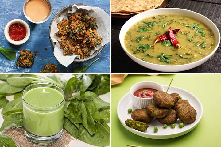 Baccho Ke Liye Palak Recipes