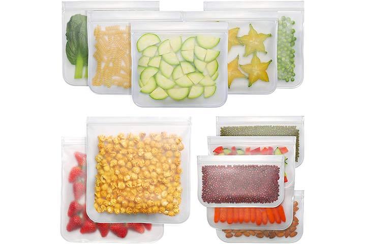 Bayco Reusable Food Storage Bags