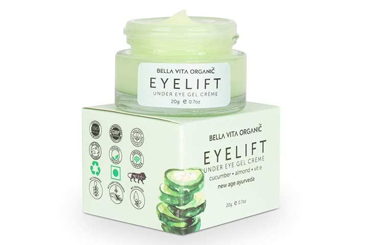 Bella Vita Organic Eye Lift Under Eye Gel Creme