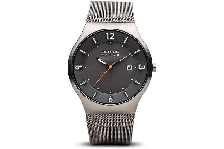 Bering Time Men's Solar Slim Watch