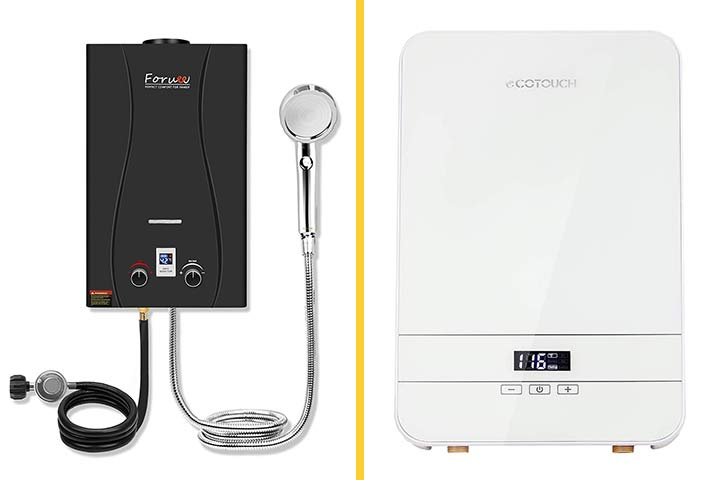 Best Tankless Water Heaters To Buy
