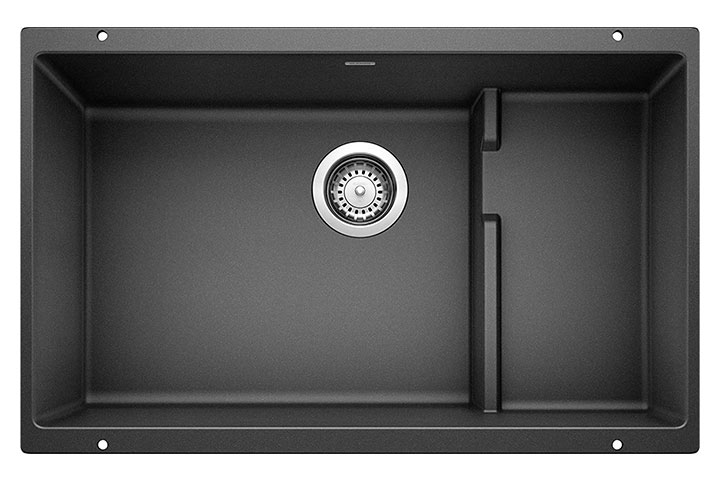 Blanco Precis Cascade Silgranit Undermount Kitchen Sink