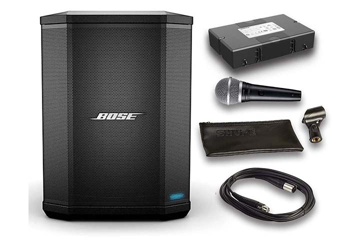 Bose S1 Bluetooth Speaker System Bundle With Battery