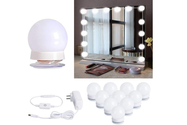 Brightown Hollywood Style LED Vanity Mirror Lights