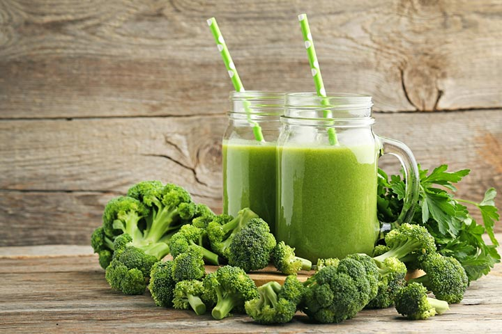 Broccoli smoothie (12 months+)