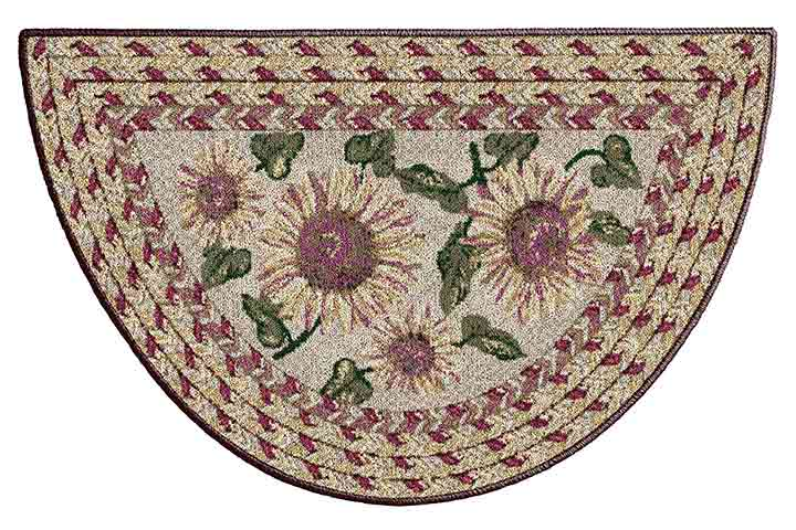 Brumlow Mills Floral Rug For The Kitchen
