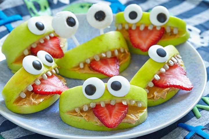 Butternut monster mouth
