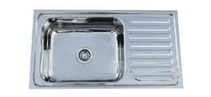 CROCODILE Single Bowl Kitchen Sink