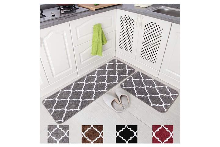 Carvapet Microfiber Kitchen Mat