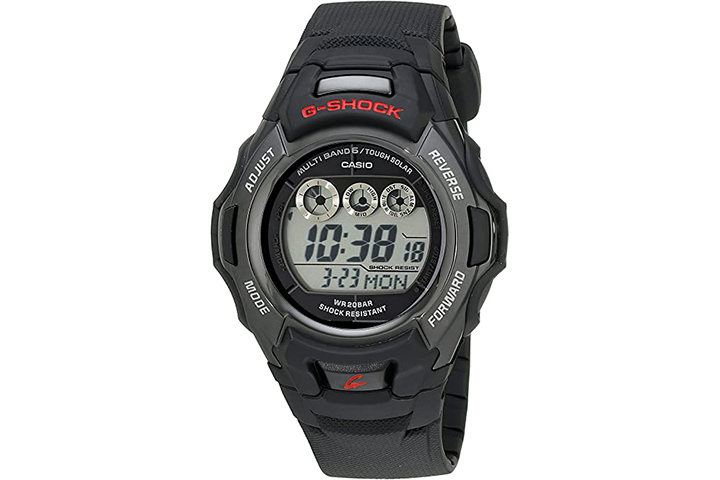 Casio G-Shock Men's Tough Solar Black Resin Sports Watch