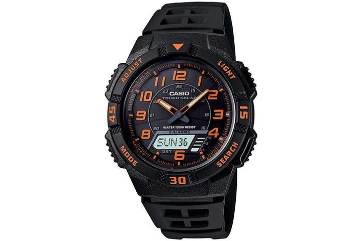 Casio Men's Slim Solar Multi-Function Watch