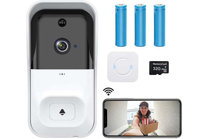 Castries WiFi Video Doorbell Camera