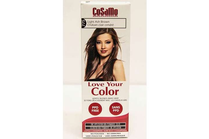 CoSaMo Love You Color Hair Color 775 Light Ash Brown