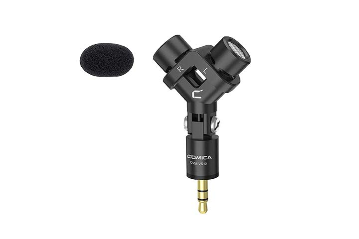 Comica Cardioid Condenser Directional Mini Video Microphone
